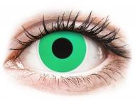 Posebne leće u boji - bez dioptrije - ColourVUE Crazy Lens - Emerald (Green) - bez dioptrije (2 kom leća)