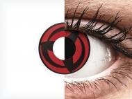 ColourVUE Crazy Lens - Kakashi - bez dioptrije (2 kom leća)