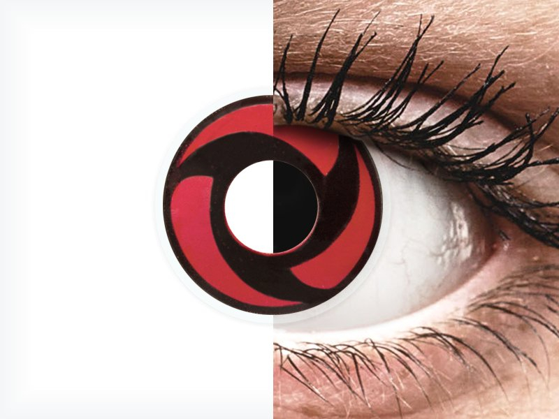 ColourVUE Crazy Lens - Mangekyu - bez dioptrije (2 kom leća) - ColourVUE Crazy Lens - Mangekyu - bez dioptrije (2 kom leća)