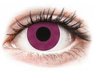 Posebne leće u boji - bez dioptrije - ColourVUE Crazy Lens - Purple - bez dioptrije (2 kom leća)