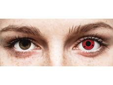 ColourVUE Crazy Lens - Sasuke - bez dioptrije (2 kom leća)