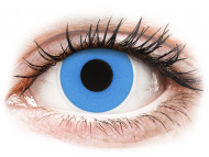 Kontaktne leće Maxvue Vision - ColourVUE Crazy Lens - Sky Blue - bez dioptrije (2 kom leća)