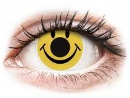 Kontaktne leće Maxvue Vision - ColourVUE Crazy Lens - Smiley - bez dioptrije (2 kom leća)