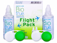 Otopina Biotrue Flight Pack 2 x 60 ml - Ponuda paketa