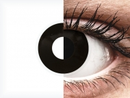 ColourVUE Crazy Lens - BlackOut - dioptrijske (2 kom leća)