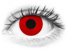 ColourVUE Crazy Lens - Red Devil - dioptrijske (2 kom leća)