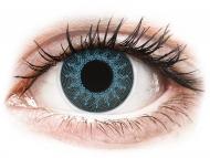 Kontaktne leće Maxvue Vision - ColourVUE Crazy Lens - Solar Blue - dioptrijske (2 kom leća)
