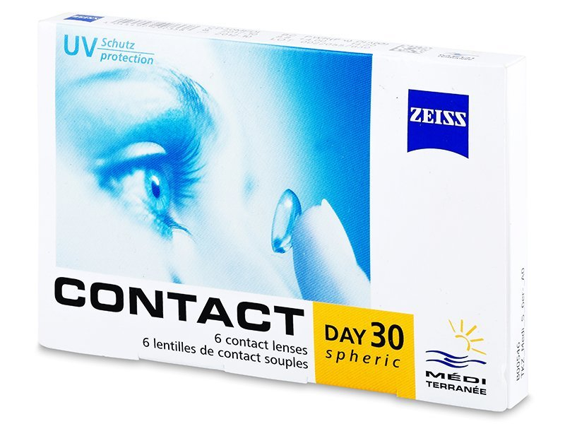 Carl Zeiss Contact Day 30 Spheric (6komleća) - Mjesečne kontaktne leće