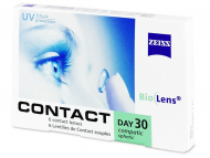 Kontaktne leće Zeiss - Carl Zeiss Contact Day 30 Compatic (6 kom leća)