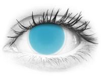 ColourVUE Crazy Glow Electric Blue - bez dioptrije (2kom leća)
