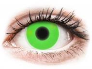 Kontaktne leće Maxvue Vision - ColourVUE Crazy Glow Green - bez dioptrije (2kom leća)