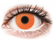 Kontaktne leće Maxvue Vision - ColourVUE Crazy Glow Orange - bez dioptrije (2kom leća)
