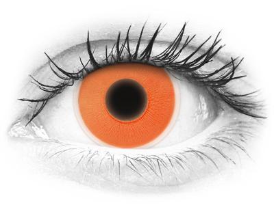 ColourVUE Crazy Glow Orange - bez dioptrije (2kom leća)