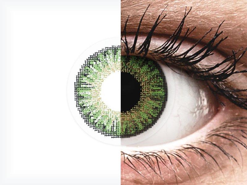 TopVue Color daily - Green - dioptrijske (10kom leća) - TopVue Color daily - Green - dioptrijske (10kom leća)