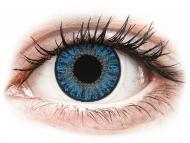 Plave kontaktne leće - nedioptrijske - TopVue Color daily - Sapphire Blue - nedioptrijske (10kom leća)
