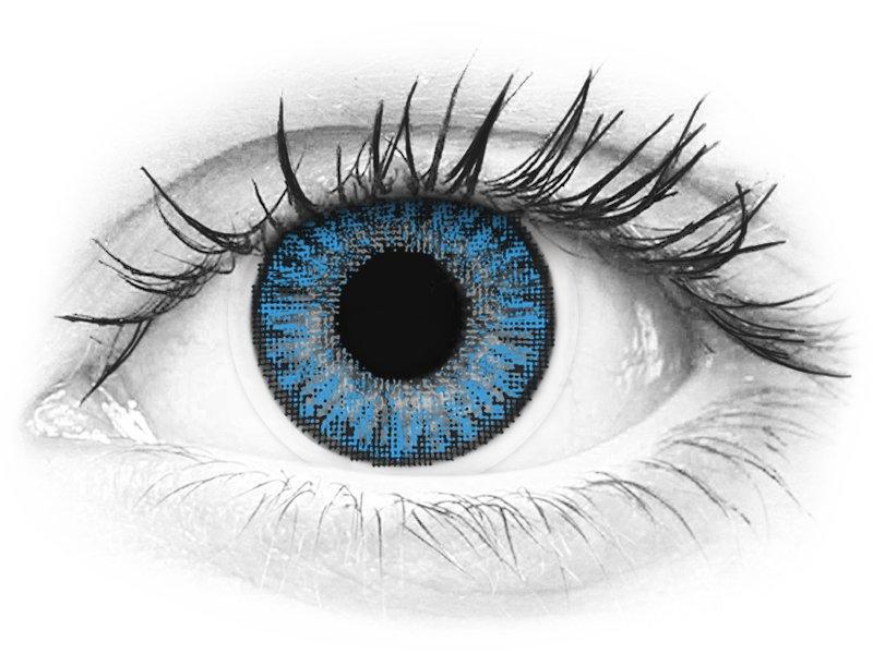 TopVue Color daily - Sapphire Blue - dioptrijske (10kom leća) - TopVue Color daily - Sapphire Blue - dioptrijske (10kom leća)