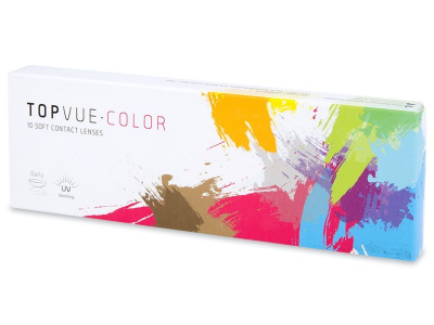TopVue Color daily - Soft Grey - nedioptrijske (10kom leća)