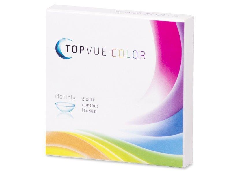 TopVue Color - Brown - dioptrijske (2kom leća) - Stariji dizajn