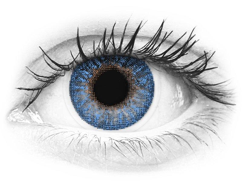 TopVue Color - True Sapphire - dioptrijske (2kom leća) - TopVue Color - True Sapphire - dioptrijske (2kom leća)