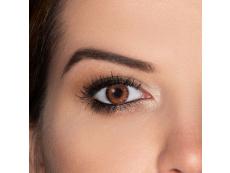 TopVue Color - Brown - nedioptrijske (2 kom leća)