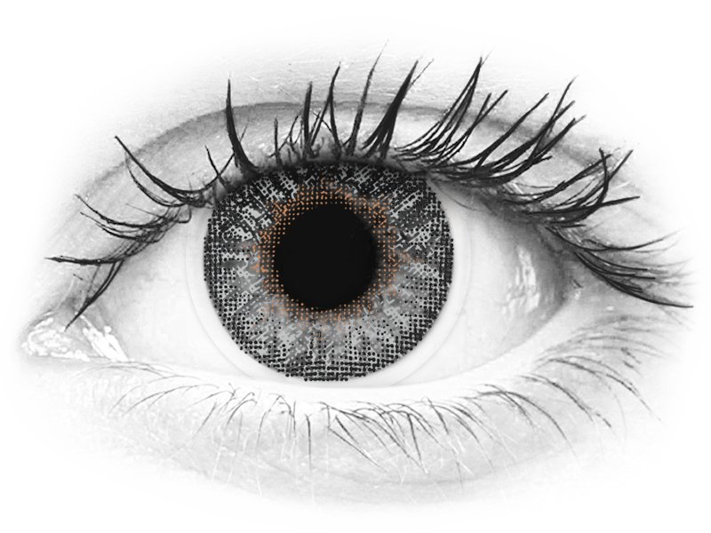 TopVue Color - Grey - nedioptrijske (2 kom leća) - TopVue Color - Grey - nedioptrijske (2 kom leća)