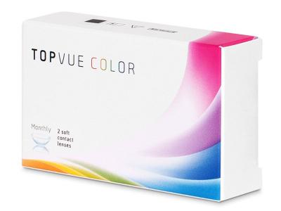 TopVue Color - Green - nedioptrijske (2 kom leća)