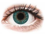 Plave kontaktne leće - nedioptrijske - TopVue Color - Turquoise - nedioptrijske (2 kom leća)