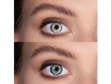 TopVue Color - Turquoise - nedioptrijske (2 kom leća)
