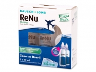 Otopine za kontaktne leće - ReNu Multiplus flight pack 2 x 60 ml