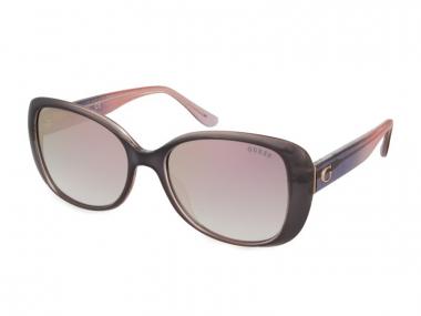 Oversize sunčane naočale - Guess GU7554 20U