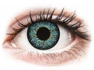 Plave kontaktne leće - dioptrijske - ColourVUE Glamour Aqua - dioptrijske (2kom leća)