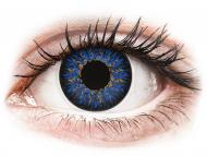 Plave kontaktne leće - dioptrijske - ColourVUE Glamour Blue - dioptrijske (2kom leća)