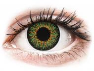 Zelene kontaktne leće - dioptrijske - ColourVUE Glamour Green - dioptrijske (2kom leća)