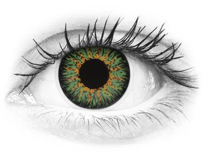 ColourVUE Glamour Green - bez dioptrije (2kom leća)