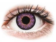 Leće u boji bez dioptrije - ColourVUE Glamour Violet - bez dioptrije (2kom leća)
