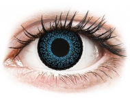 Plave kontaktne leće - nedioptrijske - ColourVUE Eyelush Blue - bez dioptrije (2kom leća)