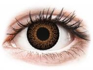 Leće u boji bez dioptrije - ColourVUE Eyelush Brown - bez dioptrije (2kom leća)