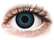Plave kontaktne leće - dioptrijske - ColourVUE Eyelush Blue - dioptrijske (2kom leća)