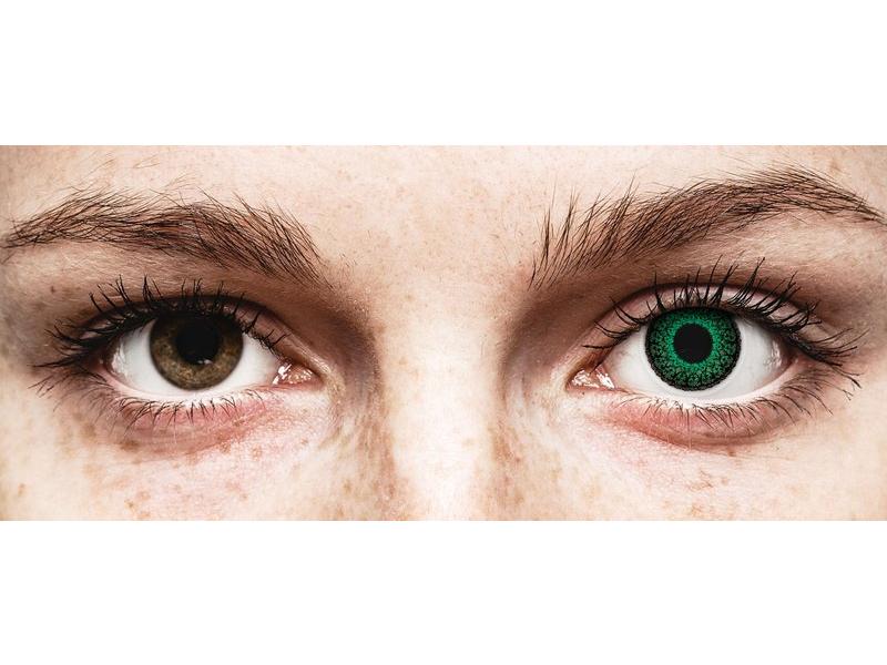 ColourVUE Eyelush Green - dioptrijske (2kom leća)