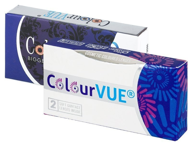 ColourVUE BigEyes Dolly Black - dioptrijske (2 kom leća)