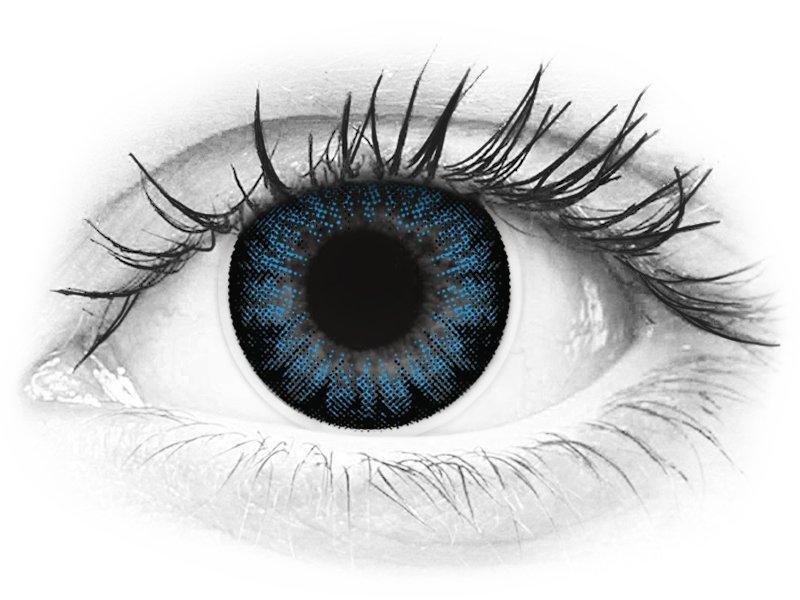 ColourVUE BigEyes Cool Blue - dioptrijske (2kom leća) - ColourVUE BigEyes Cool Blue - dioptrijske (2kom leća)