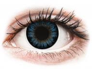 Plave kontaktne leće - nedioptrijske - ColourVUE BigEyes Cool Blue - bez dioptrije (2kom leća)