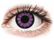 Leće u boji - ColourVUE BigEyes Ultra Violet - bez dioptrije (2kom leća)