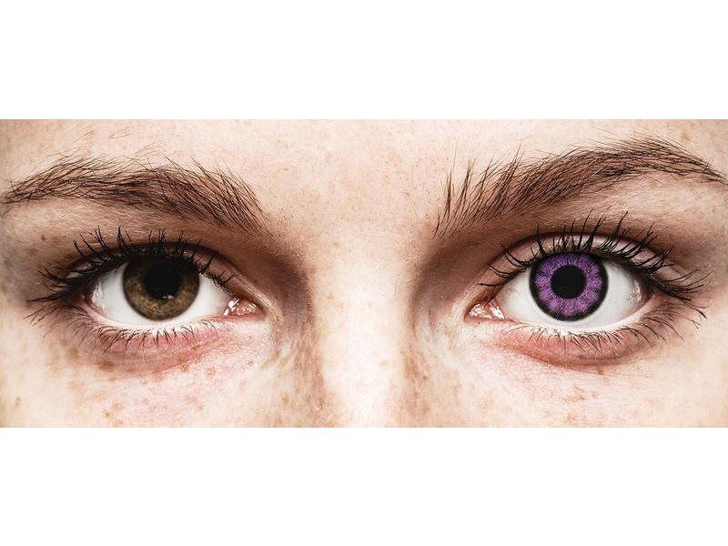 ColourVUE BigEyes Ultra Violet - bez dioptrije (2kom leća) - ColourVUE BigEyes Ultra Violet - bez dioptrije (2kom leća)