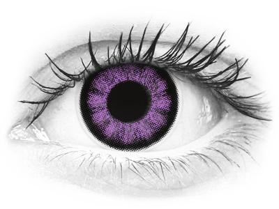ColourVUE BigEyes Ultra Violet - bez dioptrije (2kom leća)