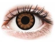 Smeđe kontaktne leće - dioptrijske - ColourVUE BigEyes Sexy Brown - dioptrijske (2kom leća)