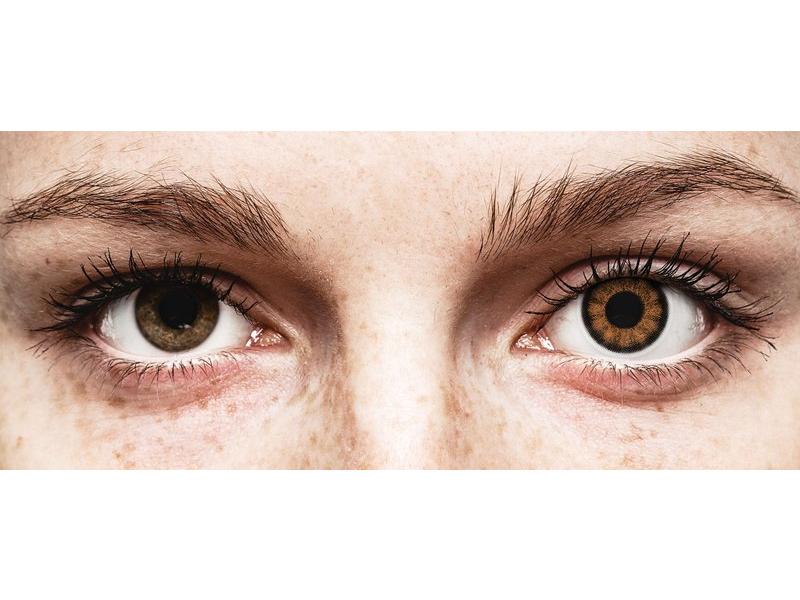 ColourVUE BigEyes Sexy Brown - dioptrijske (2kom leća)
