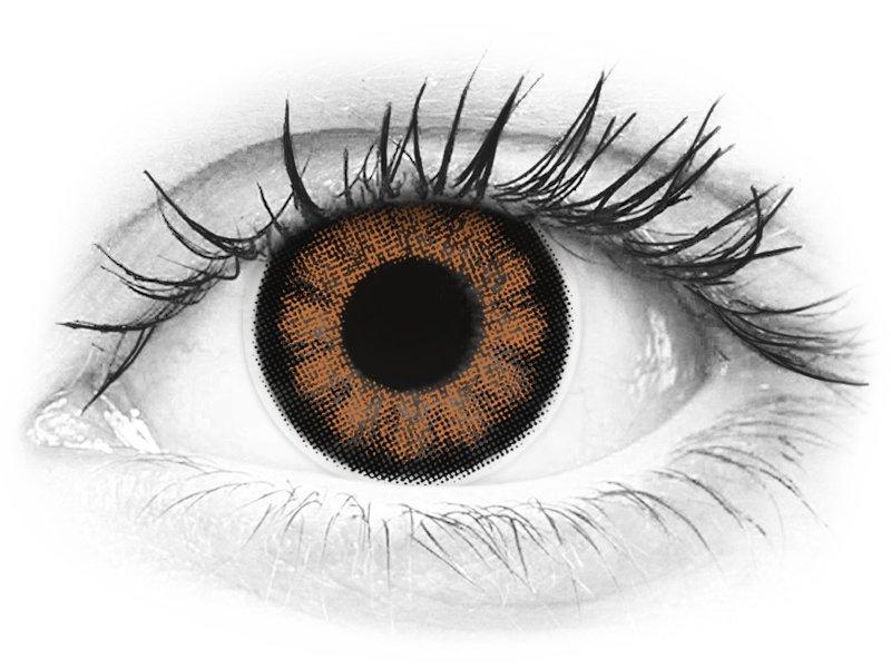 ColourVUE BigEyes Sexy Brown - dioptrijske (2kom leća) - ColourVUE BigEyes Sexy Brown - dioptrijske (2kom leća)