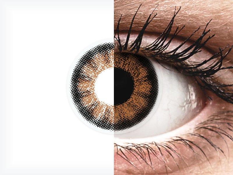 ColourVUE BigEyes Sexy Brown - bez dioptrije (2kom leća)