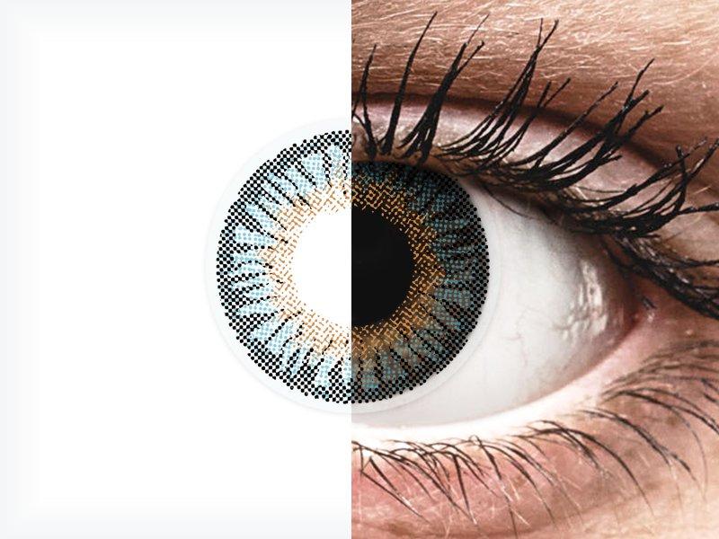 ColourVUE 3 Tones Blue - bez dioptrije (2kom leća)